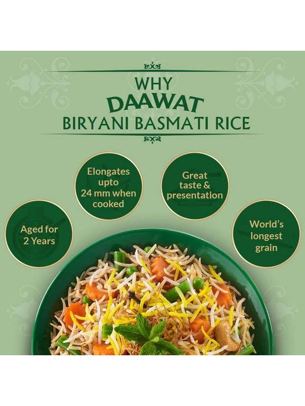 Daawat Biryani Basmati Rice 5 kg