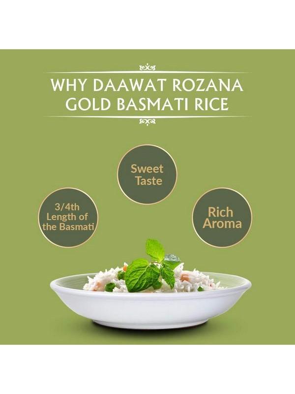 Daawat Rozana Gold Basmati Rice 1 kg