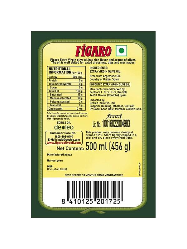 Figaro Extra Virgin Olive Oil 500 ml