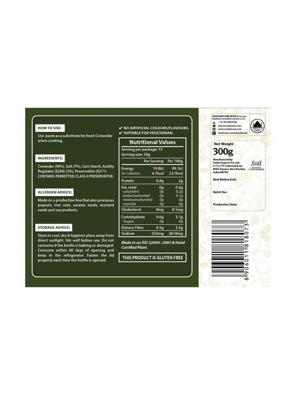 Fazlani Foods Coriander Paste 300 gm