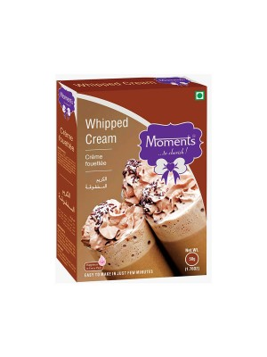Moments Whipped Cream 50 gm