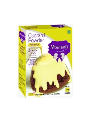 Moments Custard Powder Pineapple 100 gm