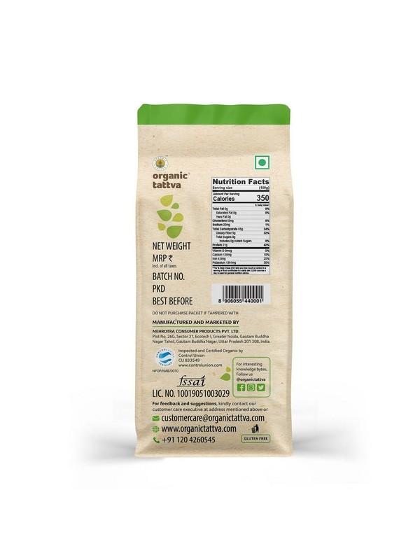 Organic Tattva Organic Arhar (Tur) Dal 500 gm