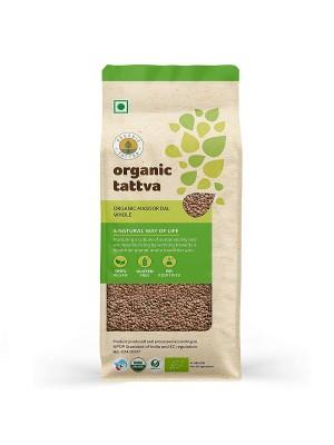 Organic Tattva Organic Masoor Whole 500 gm