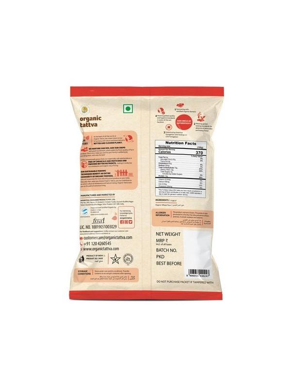 Organic Tattva Organic Whole Wheat Flour (Chakki Atta) 1 kg