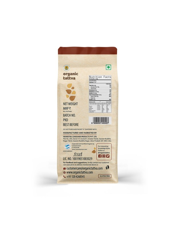 Organic Tattva Organic Jowar Flour 500 gm