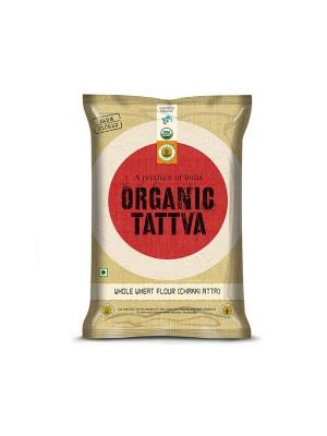 Organic Tattva Organic Whole Wheat Flour (Chakki Atta) 10 kg