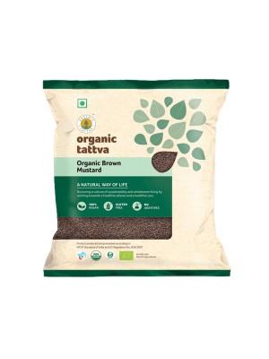 Organic Tattva Organic Brown Mustard (Rai) 100 gm