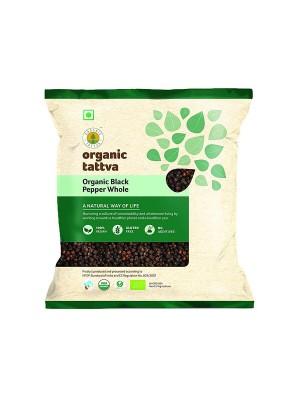 Organic Tattva Organic Black Pepper Whole 100 gm