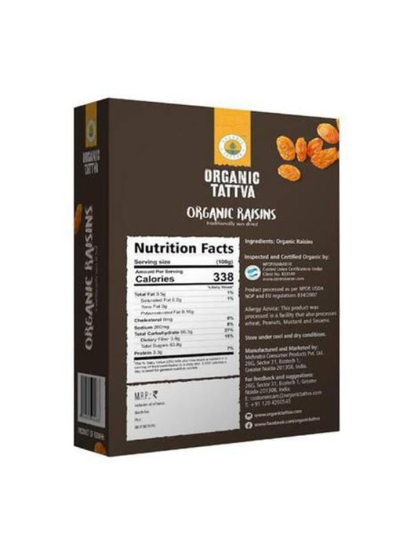 Organic Tattva Organic Raisins 100 gm