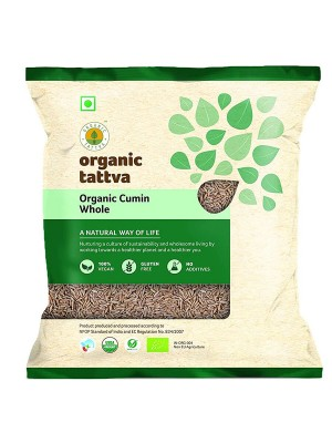 Organic Tattva Organic Cumin Whole 200 gm