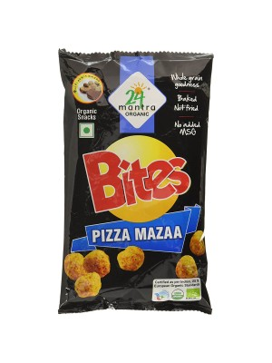 24 Mantra Pizza Mazaa Bites 25 gm
