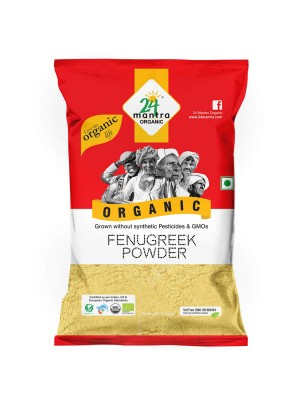 24 Mantra Fenugreek Powder 100 gm