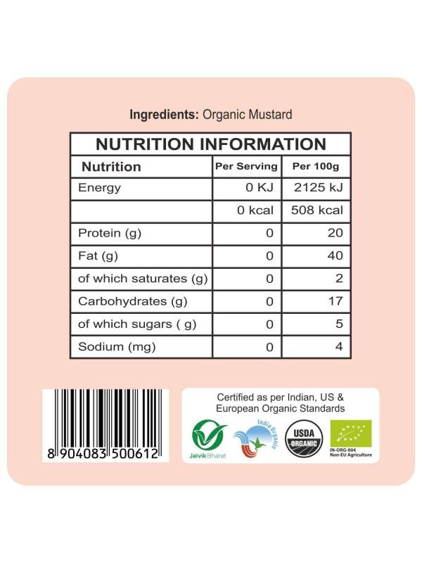 24 Mantra Mustard Small 100 gm