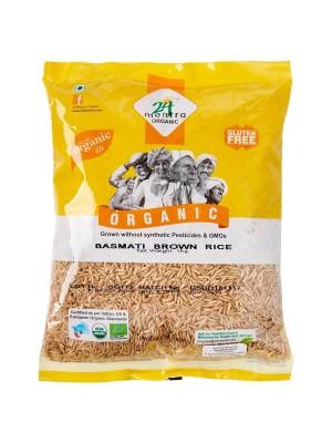 24 Mantra Basmati Rice Premium Brown 1 kg