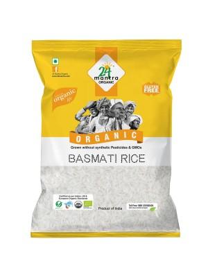 24 Mantra Basmati Rice Premium Polished 1 kg
