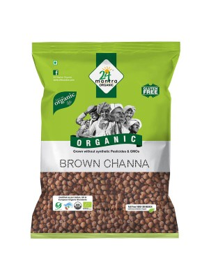 24 Mantra Brown Channa Whole 500 gm