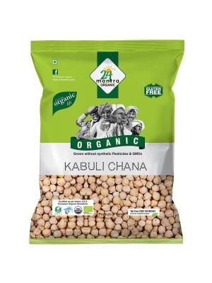 24 Mantra Kabuli Chana 500 gm