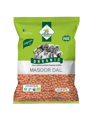 24 Mantra Masoor Dal 500 gm