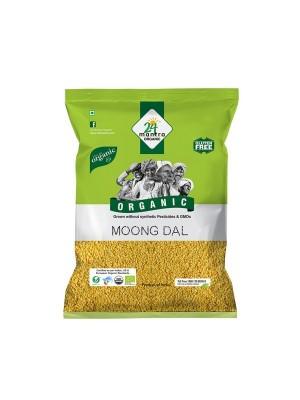 24 Mantra Moong Dal 1 kg