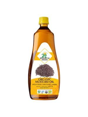 24 Mantra Premium Mustard Oil 1 ltr