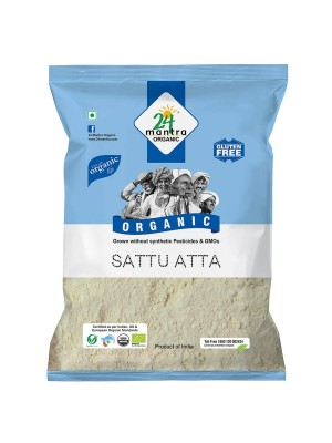 24 Mantra Sattu Atta 500 gm