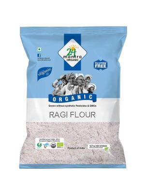 24 Mantra Ragi Flour 500 gm