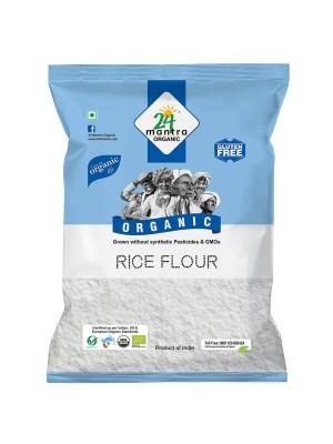 24 Mantra Rice Flour 500 gm