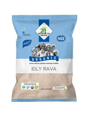 24 Mantra Rice (Idly) Rava 500 gm