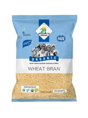 24 Mantra Wheat Bran 500 gm