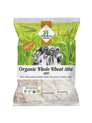 24 Mantra Wholewheat Atta Premium 1 kg