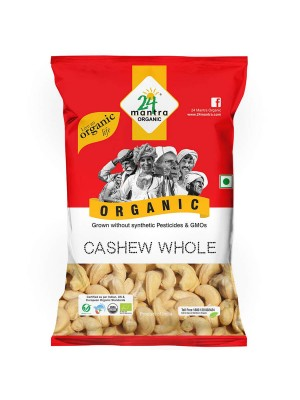 24 Mantra Cashew Whole 100 gm