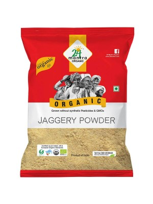 24 Mantra Jaggery Powder 500 gm