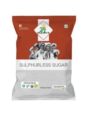 24 Mantra Sulphurless Sugar 1 kg