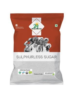 24 Mantra Sulphurless Sugar 500 gm