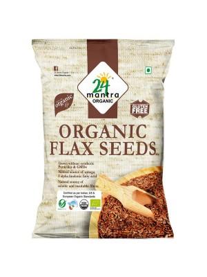 24 Mantra Flax Seeds 200 gm