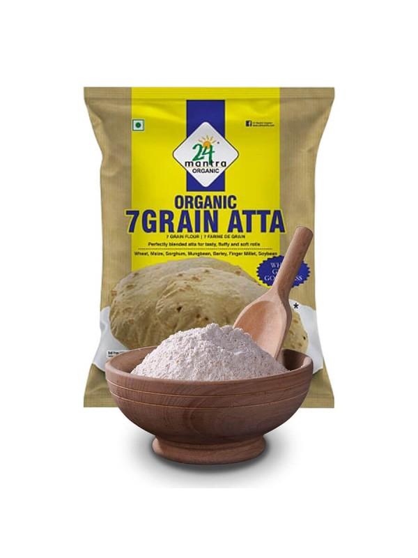 24 Mantra 7 Grain Atta 1 kg