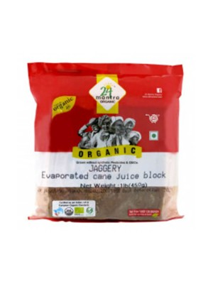 24 Mantra Jaggery 450 gm