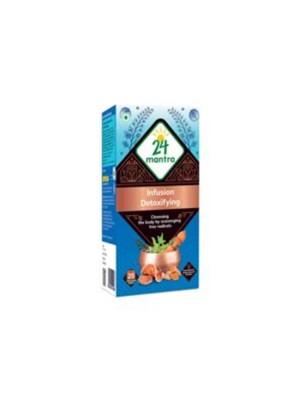 24 Mantra Ayurvedam Detoxifying 25 bags