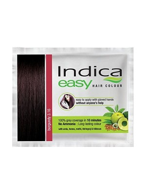 Indica Easy Hair Colour Burgundy (25 ml)