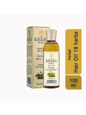 Vagad's Khadi 18 Herbs Mineral Free Oil 100 ml
