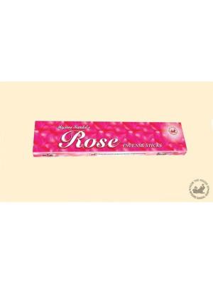 Mysore Sandal Rose Regular Agarbatti - 12 Sticks