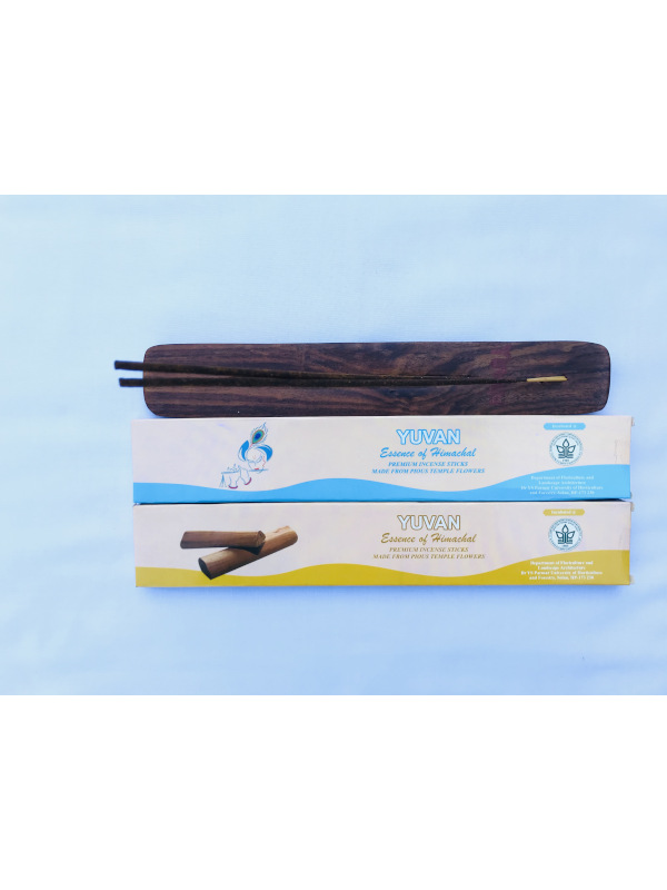 Yuvan Handmade Premium Organic Incense Sticks (Combo: Intimate & Sandal) - Pack of 1