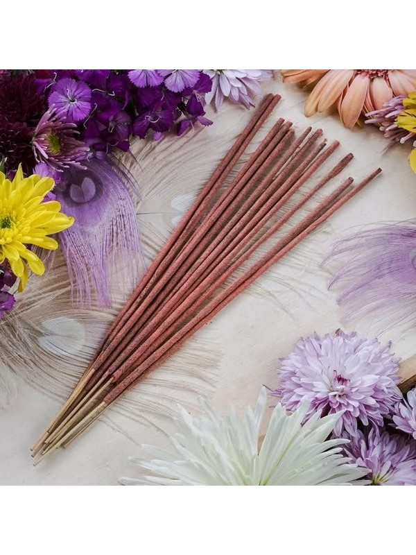 Yuvan Handmade Premium Organic Incense Sticks (Combo: Rose) - Pack of 1