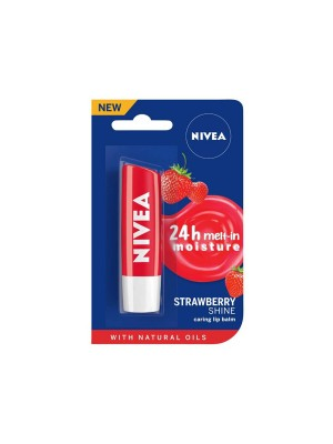 Nivea Lip Balm Fruity Strawberry Shine