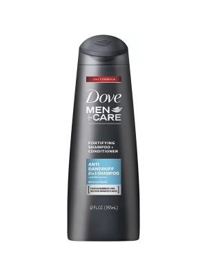 Dove Shampoo Conditioner Care For Men 355 ml