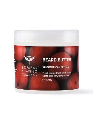 Bombay Shaving Company Beard Butter 100 gm (Wood-Scented)