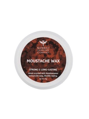 Bombay Shaving Company Moustache Wax 50 gm (Wood Scented)
