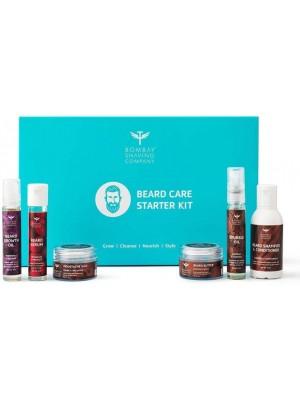 Bombay Shaving Company Beard Care Starter Kit Wood-Scented Kit