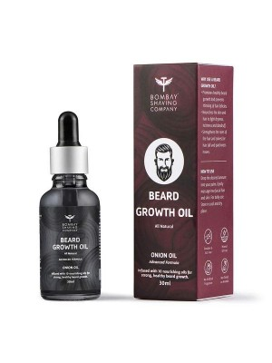 Bombay Shaving Company Beard Growth Oil For Men Infused With The Power of Onion Oil And 10 Essential Oils 30 ml